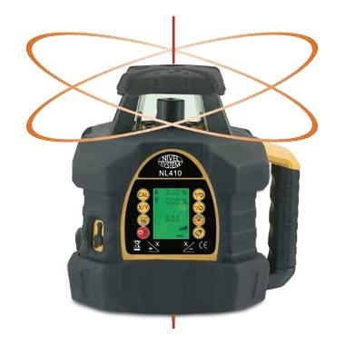 Niwelator Laserowy Nivel System NL410 + detektor cyfrowy