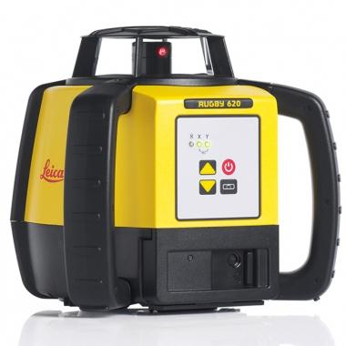 Niwelator Laserowy Leica Rugby 620 + detektor Rod Eye