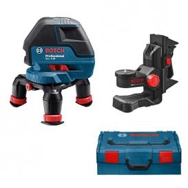 Laser krzyżowy BOSCH GLL 3-50 Professional + BM 1 + L-BOXX