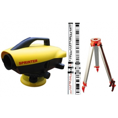 Niwelator elektroniczny Leica Sprinter 150M [ZESTAW] Statyw + Łata kodowa