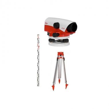Niwelator optyczny Leica NA 730 [ZESTAW] Statyw + Łata