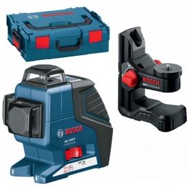 Laser krzyżowy BOSCH GLL 3-80 Professional + BM 1 + L-BOXX