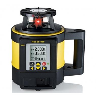 Niwelator Laserowy Leica Rugby 880 + detektor Rod Eye