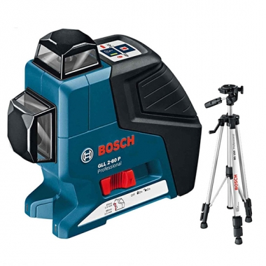 Laser krzyżowy BOSCH GLL 2-80 Professional + Statyw BS 150