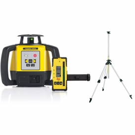 Niwelator Laserowy Leica Rugby 640G + detektor Rod Eye 120G