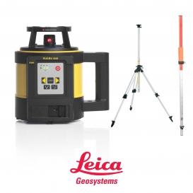 Niwelator Laserowy Leica Rugby 840 + detektor Rod Eye 180 RF